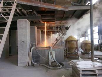 32平方高质量熔化熔块窑