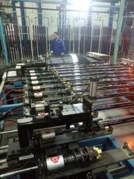 四川低温精控制太阳能玻璃管尾部收口线性装置