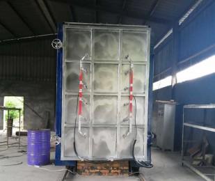 四川5立方硅碳棒加热炉